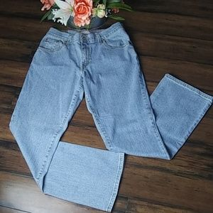 Vintage Levi's 550 relaxed boot cut jeans size 8m